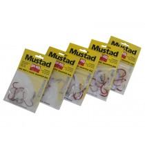 Mustad Big Red 2 Hook Snapper Rigs 3-Pack