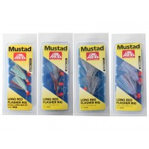Mustad Long Red Flasher Rig