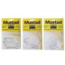 Mustad Penetrator 2-Hook Snapper Rigs 3-Pack