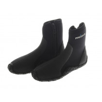 Pro-Dive 5mm Rubber Sole Zippered Dive Boots