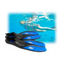 Mirage Quest Youth Dive Fins Blue Small US Size 3-4.5