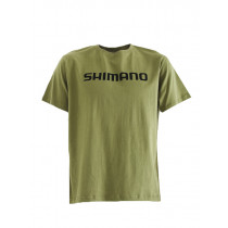 Shimano Corporate T-Shirt Khaki