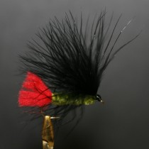 Fishfighter Olive Marabou Lure Fly