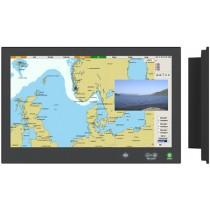 Hatteland HD-24T21 Series X MMD 24'' HighBright Bonded LED Marine Display Unit