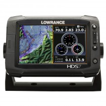 Lowrance HDS-7 Gen2 Touch Fishfinder/Chartplotter Custom Package