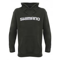 Shimano Dark Khaki Fleece Hoodie