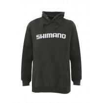 Shimano Dark Khaki Fleece Hoodie Medium