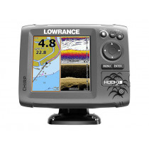 Lowrance HOOK-5 CHIRP GPS/Fishfinder DownScan Trailer Boat Package