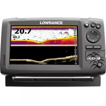 Lowrance HOOK-7x CHIRP Fishfinder with Mid/High/DownScan Transducer