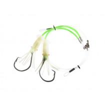 Sea Harvester Deluxe Hapuka Squid Rig 16/0 Green Lumo