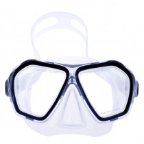 Neptune Signature Dive Mask Clear/Silver