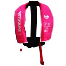 Watersnake PFD Inflatable Life Jacket 150N Adult Pink