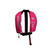 Watersnake PFD Inflatable Life Jacket 150N Adult Pink