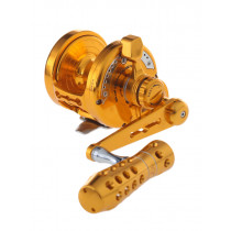 Jigging Master Monster Game PE6 High Gear Reel Left Hand Gold