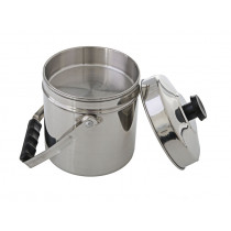 Kiwi Camping Stainless Steel Billy Pot 3L