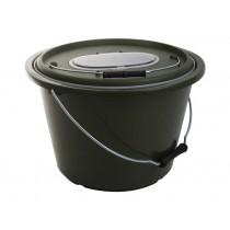 ManTackle Portable Live Bait Bucket 40 x 26cm