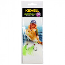 Kilwell UV Tarakihi Tickla Flasher Rig Greeny #2