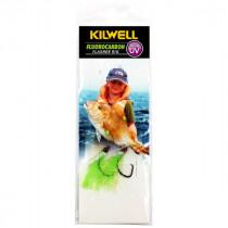 Kilwell UV Tarakihi Tickla Flasher Rig Greeny 2/0