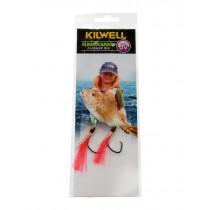 Kilwell UV Tarakihi Tickla Flasher Rig Pinky 2/0