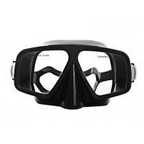 Aropec Pilot Dual Lens Frameless Mask Black