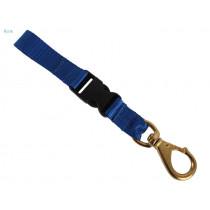 Aropec Hose Clip with Quick Release Blue