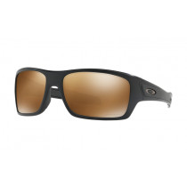 Oakley Turbine PRIZM Polarised Sunglasses Matte Black Frame/Tungsten Lens