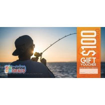 Marine Deals $100 Gift Voucher with Sleeve - Hooked up on Sunrise