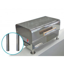 Recessed Front Mount Riser for Sovereign BBQ - Pair