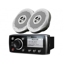 Fusion MS-RA205 Marine Stereo Package with Speakers