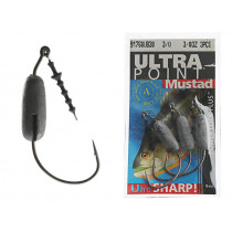 Mustad Power Lock Plus Work Hooks 3/0 3/8oz Qty 3