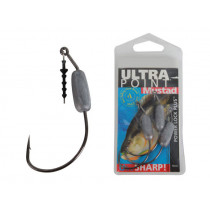Mustad Power Lock Worm Hook Jig Heads 3/0 3/8oz Qty 3