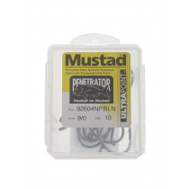 Mustad 92604NPBLN Penetrator Hooks Value Pack 9/0 Qty 10