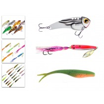 Berkley Slow Jig Vibe Lure and Soft Bait Value Pack