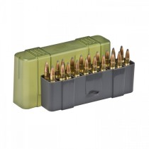 Plano 123020 Large Rifle Ammo Case 20 Rounds Green