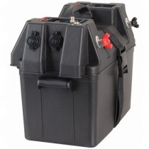 Battery Box with Power Accessories