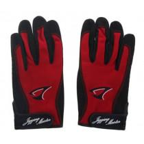 Jigging Master 3D Fishing Gloves Red