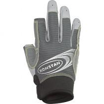 Ronstan 3 Finger Race Glove Grey