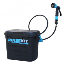 RinseKit Pressurised Portable Shower with Hose