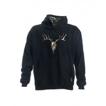 Ridgeline Mens Deer Hoodie Black