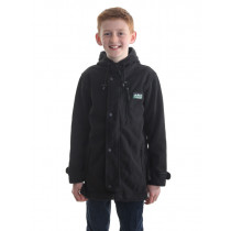 Ridgeline Kids Cub Fleece Jacket Black 6