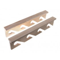 Ceiling Mount Plywood Rod Rack Set Holds 4 Rods