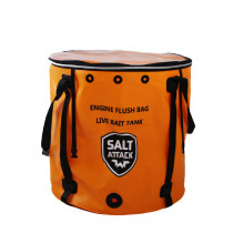 Salt Attack Outboard Motor Flush Bag