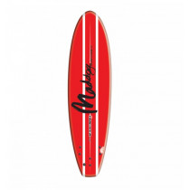 Maddog Thruster Surfboard 5ft 5in Red