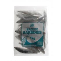 Salty Dog A Grade Pacific Sardines 1kg Freeflow Bag