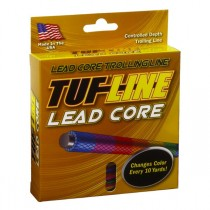 TUF-Line Lead Core Line 100yd Coloured Per 10yd