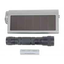 LED Torch 150 Lumen with Solar Recharging Compartment