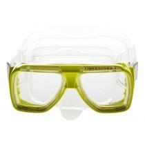 TUSA TM 5000 Liberator Dive Mask Crystal Silicone Yellow