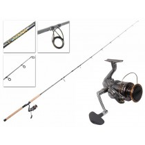 Shimano Sahara 4000 FI XG and Catana Softbaiting Combo 7ft 3in 6-8kg 2pc