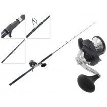 Shimano Torium 16A HG and Energy Concept Overhead Jigging Combo 5ft PE2-4 2pc