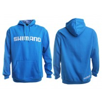 Shimano Collage Hoodie Blue